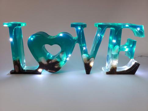 Light up Love sign - $25