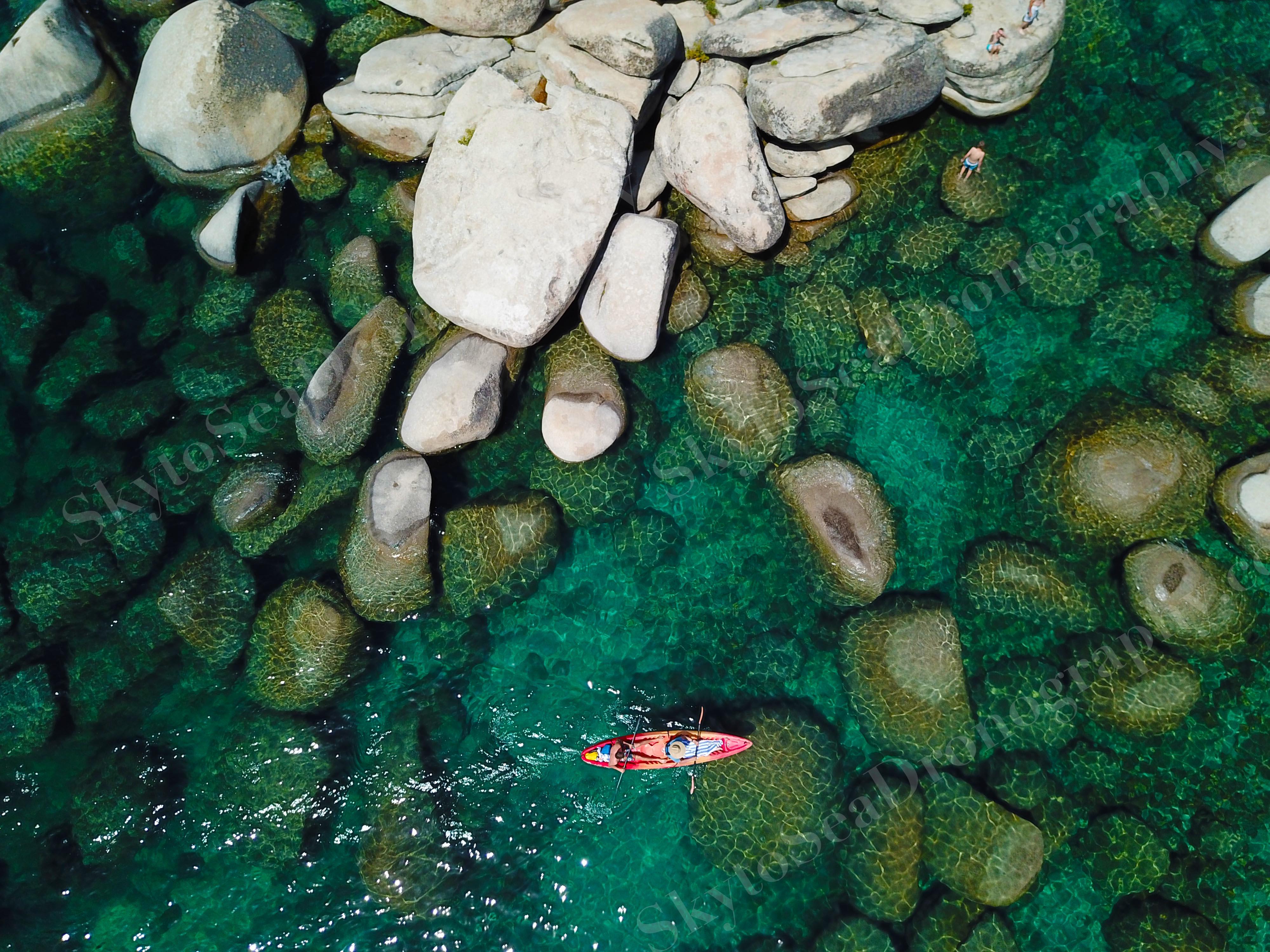 CU Kayaker Lake Tahoe
