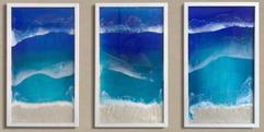 3 panel ocean