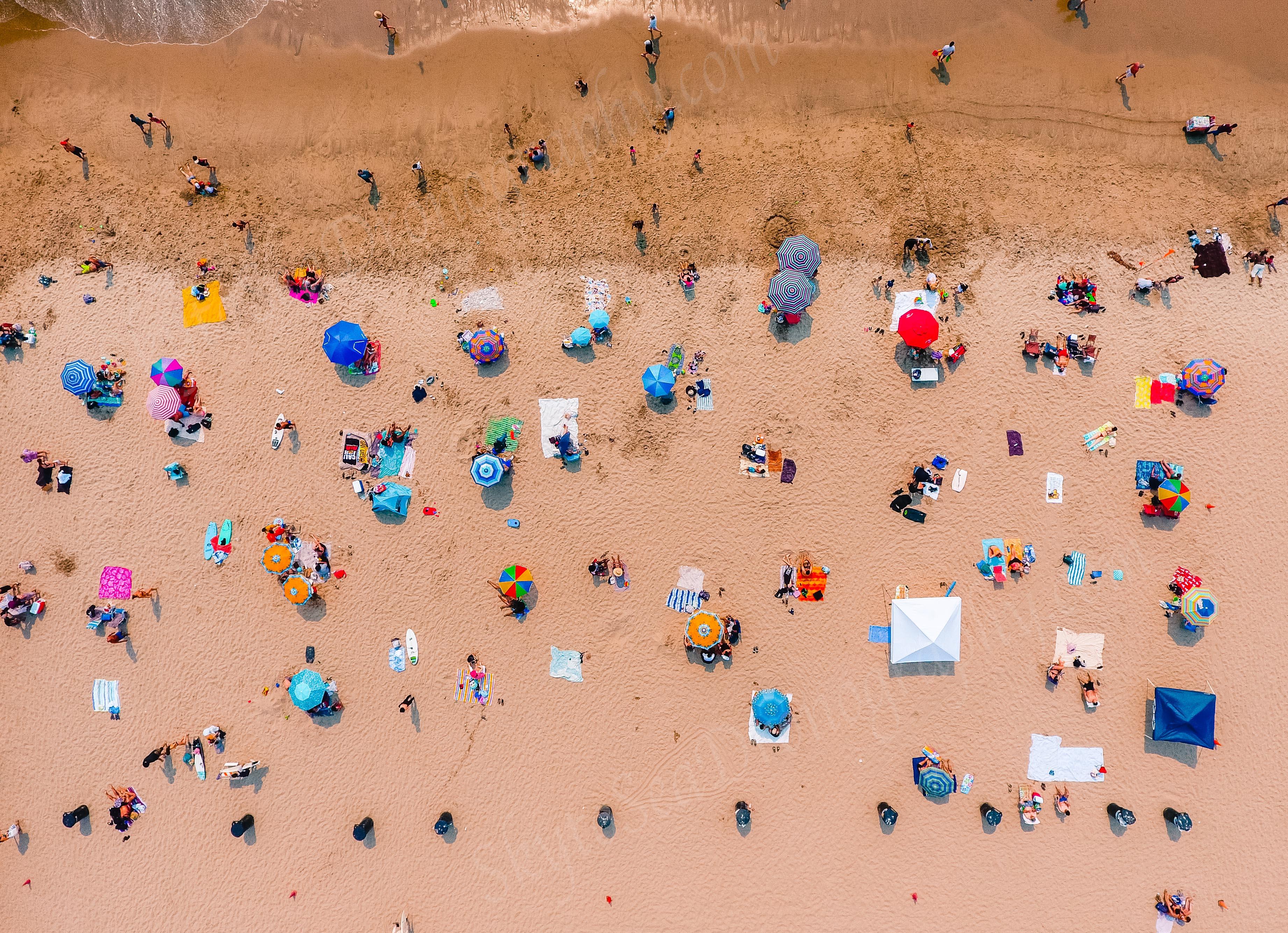 Sunbathers WM