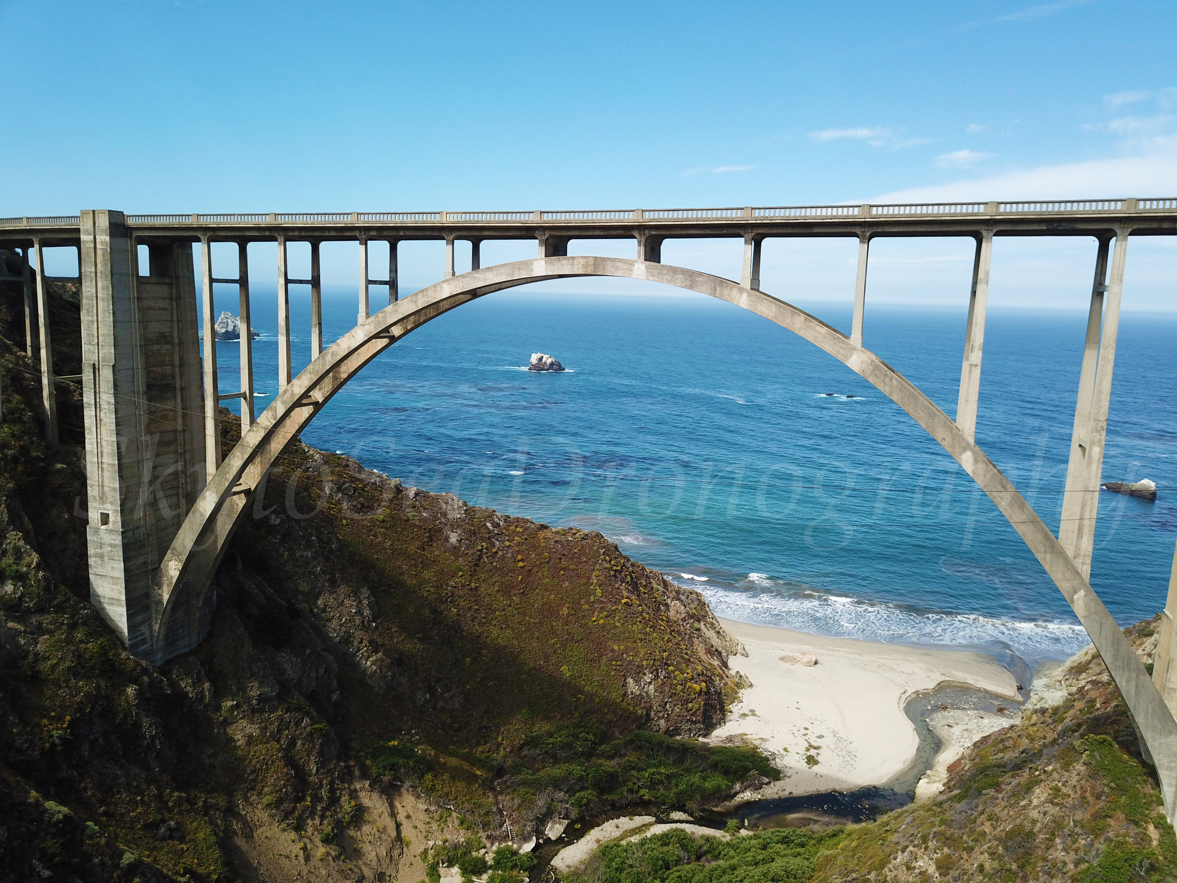 Bixby Bridge low