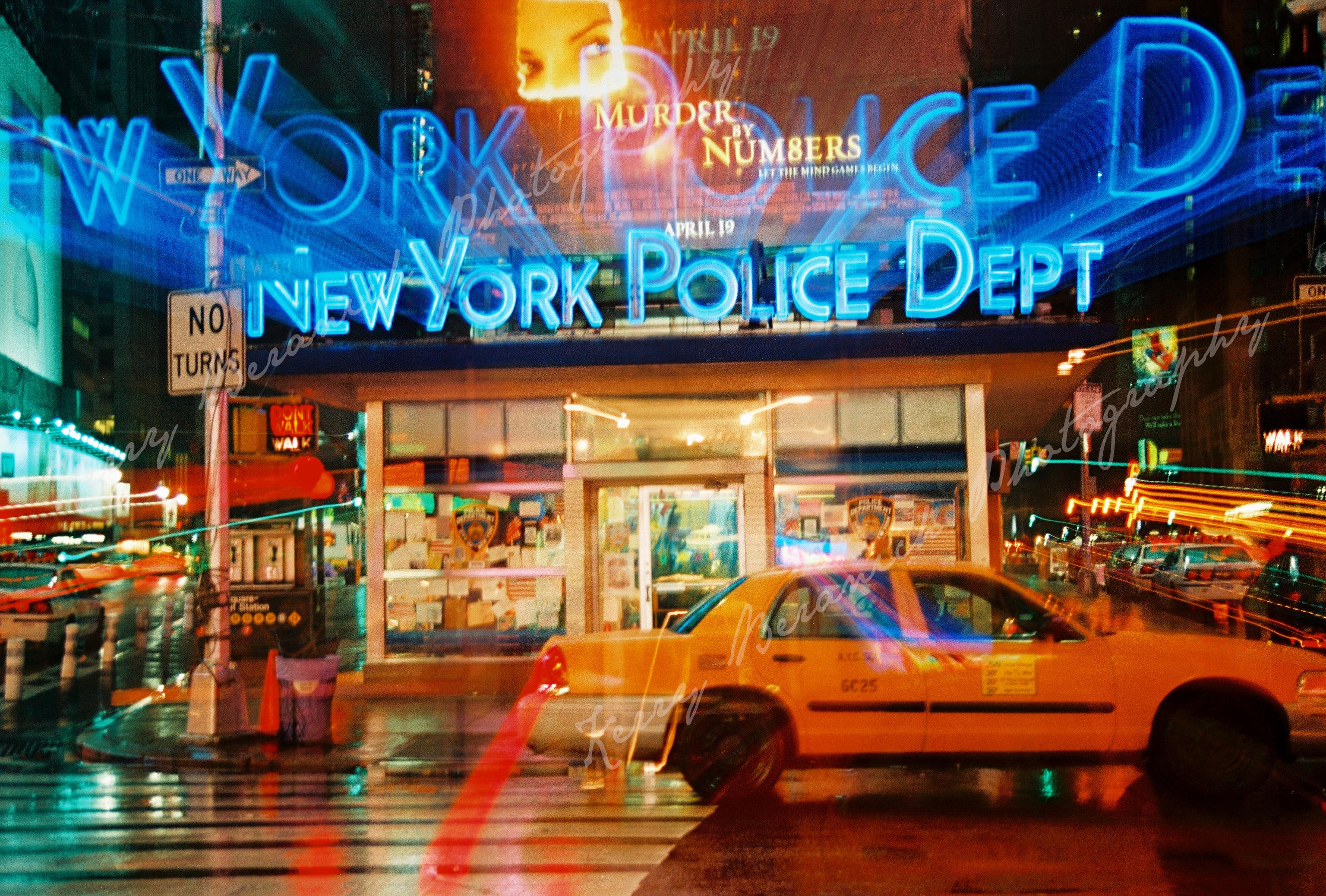NY police watermark
