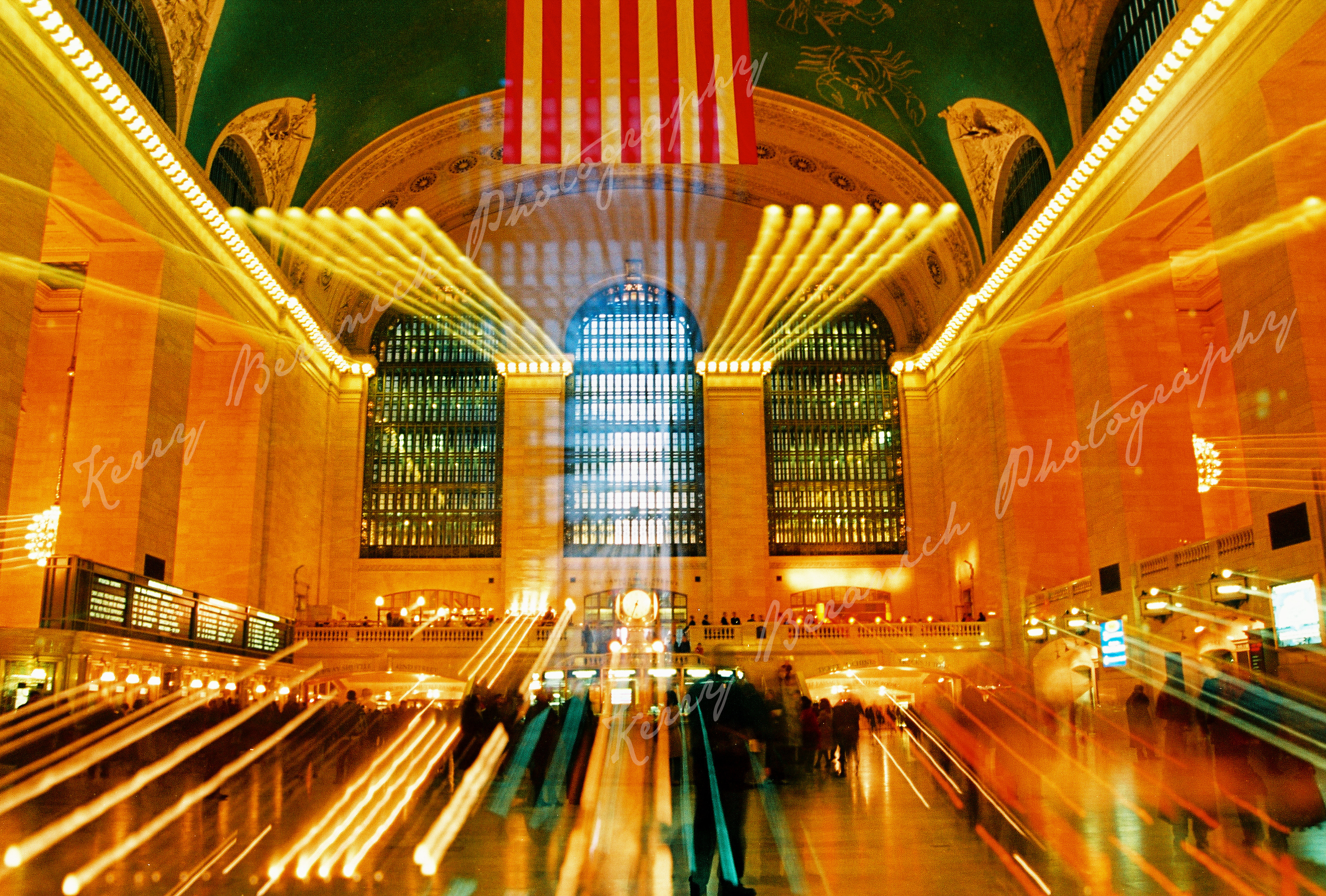 Grand Central station watermark