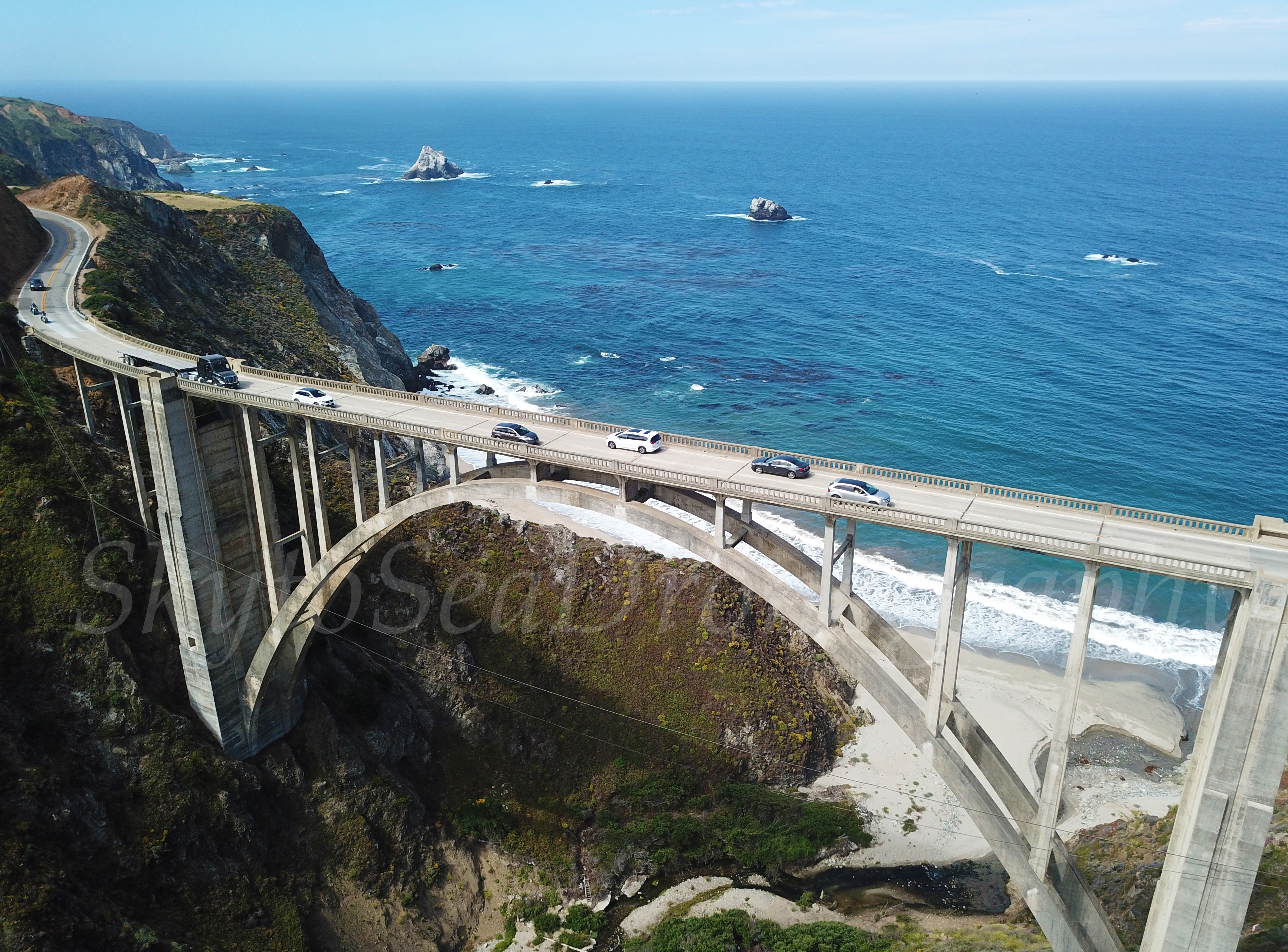 Bixby Bridge high