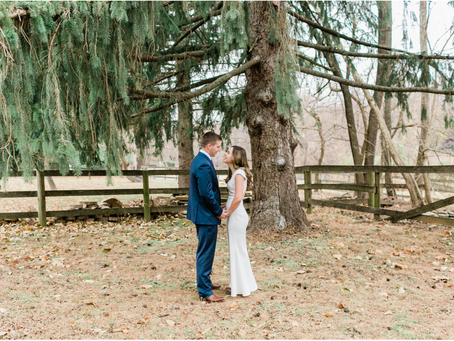 Harper's Ferry Intimate Fall Wedding