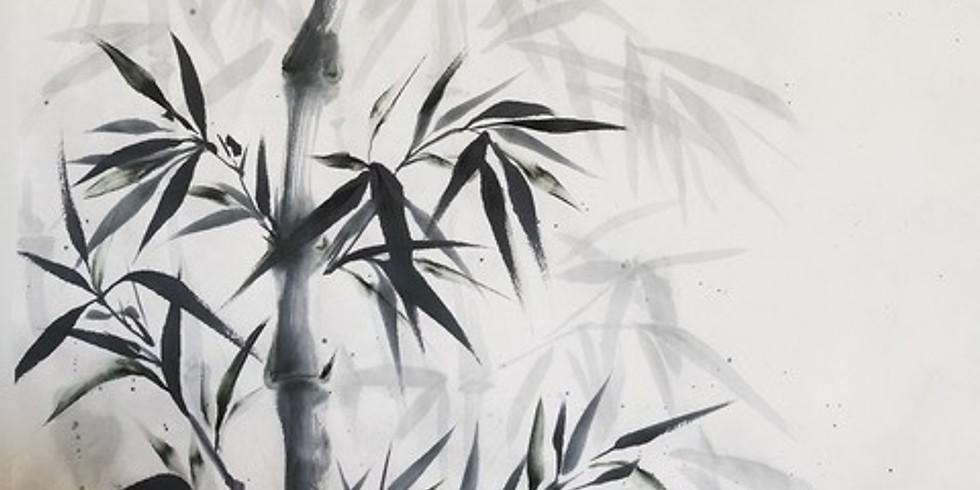 Workshop Sumi-e Japanische Zenmalerei/Sabine Nimz