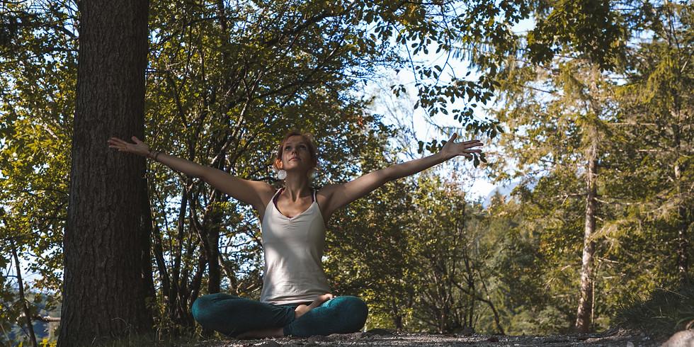 Sommer Garten Yoga