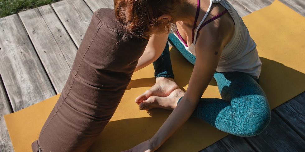 Yin Yoga und Atem Online