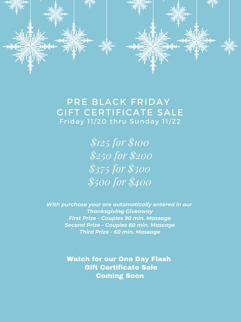 Pre Black Friday Sale