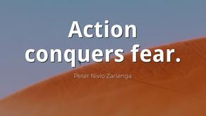 La sabiduría conquista al miedo.