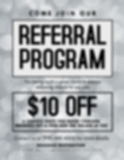 Massage Destination Referral Program