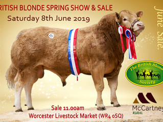 Sale at Worcester 8th June @ 11am
