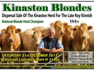 Kinaston Herd Dispersal