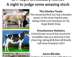 Stock Judging Competition @ Shrewsbury