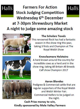 Stock Judging Competition @ Shrewsbury