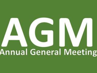 Society Annual General Meeting via zoom