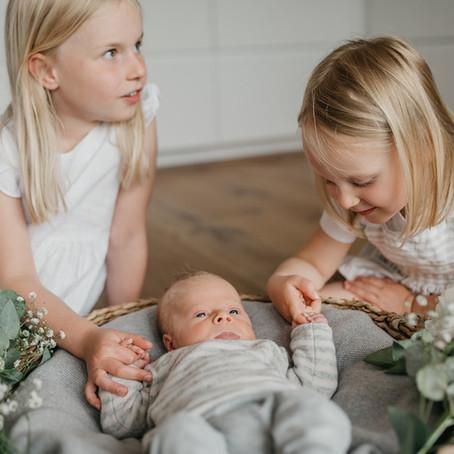 Babyshootings mit Geschwistern