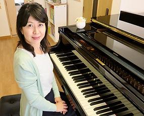 桶川の「さいのおピアノ教室」講師 道祖尾美香です