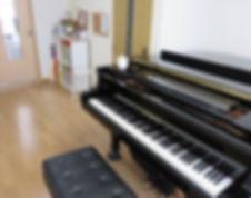 桶川・上尾 さいのおピアノ教室レッスン室