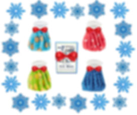 holiday ice bags with snowflakes - crop.
