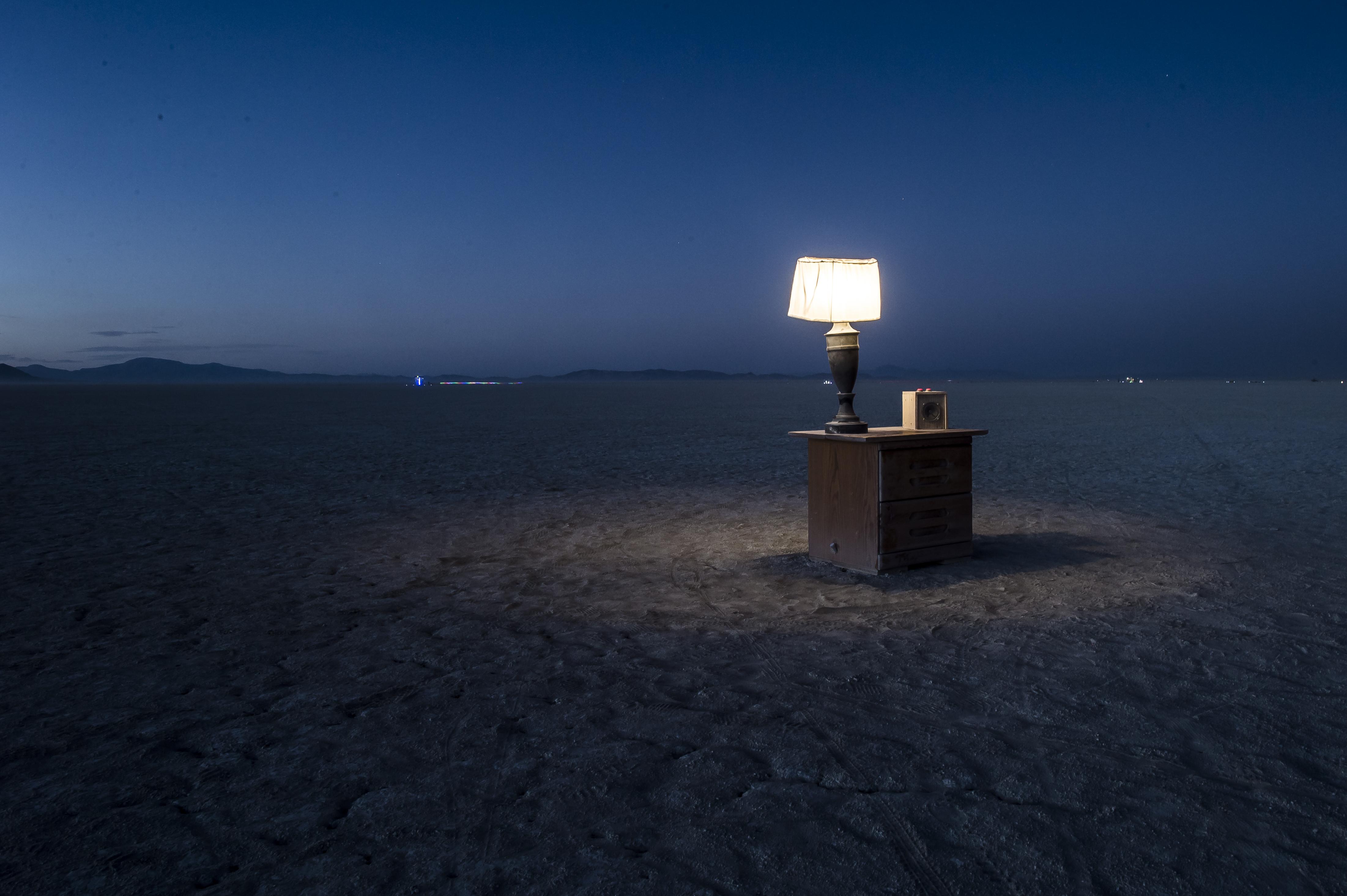 An Alone Nightstand