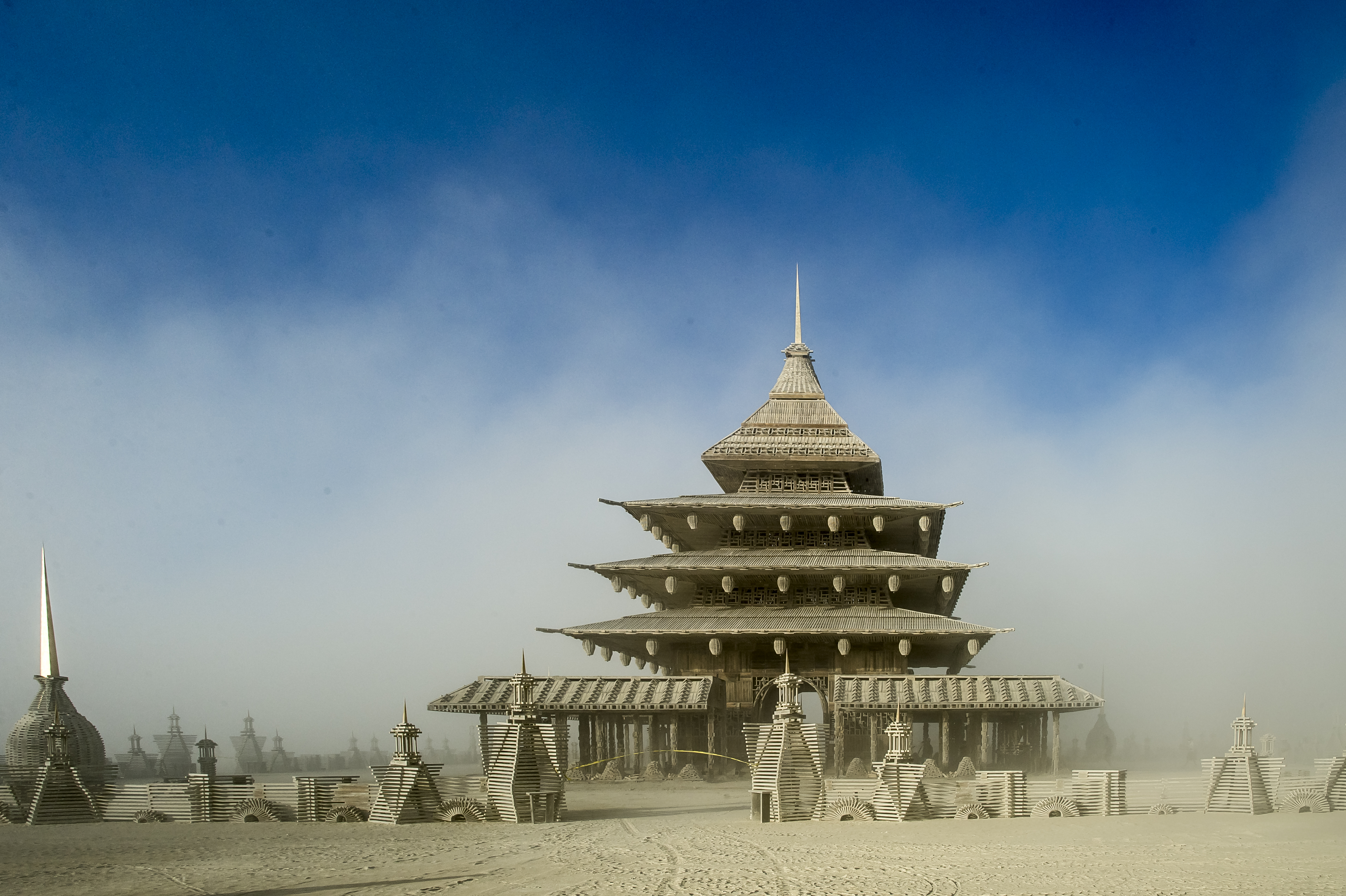 A Sacred Place, The Temple