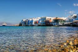 Little Venice, Mikonos, Greece