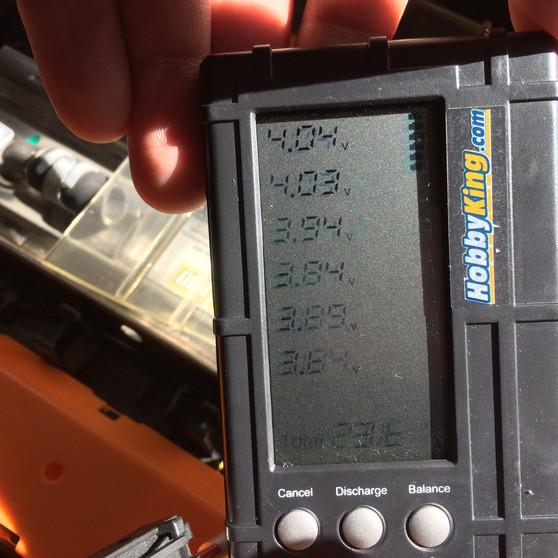 Balance de baterías sin BMS