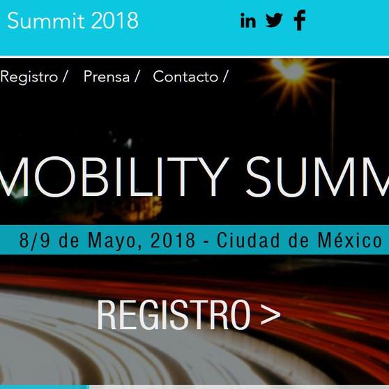Seminario de movilidad 2018 en Mexico