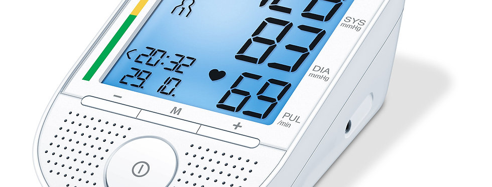 Sprechendes Oberarm-Blutdruckmessgerät BM 49