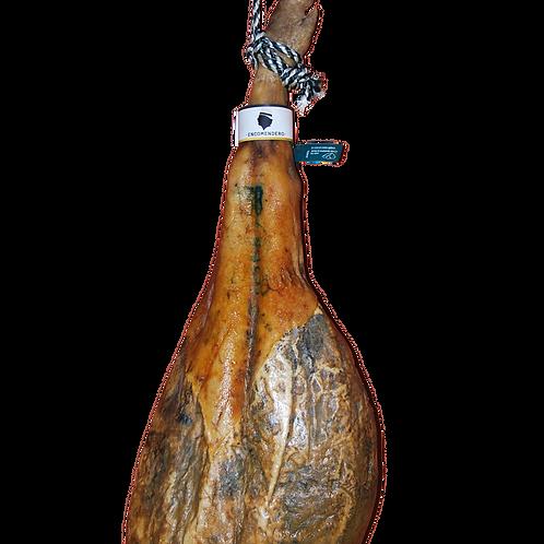 Jamón (Etiqueta Verde), Raza 75% €/kg/pieza