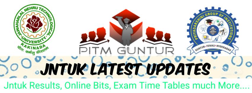 JNTUK B.Tech 2-1,3-1,4-1 Reg/Supply Sem Exam Time Table Oct-2019