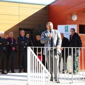 Inauguration de l'ESAT La Pinède à Leucate