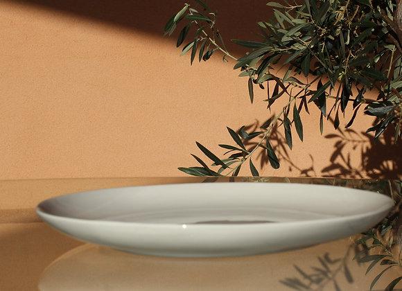 Assiette plate - modèle Classique - Terre de Provence -(D25xH3.5)