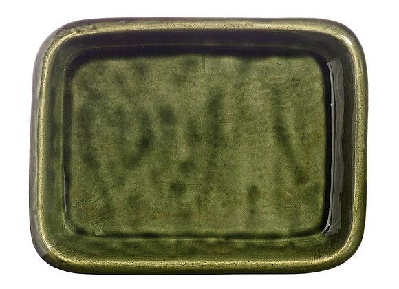 Grand Plat à gratin rectangle  -dimension 27 x 37 cm