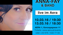ANNA-FAY bald Live in Wien!