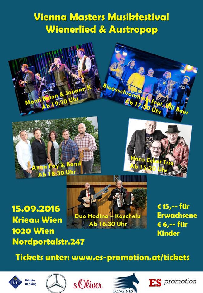 Anna-Fay & Band @ Vienna Masters Musikfestival 2016