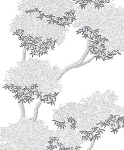 , dessin mural noir et blanc