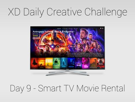 Day 9 - Smart TV Movie Rental