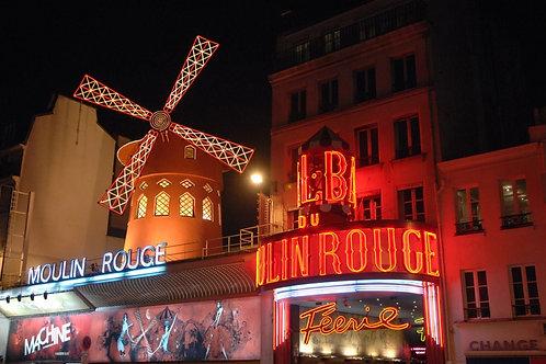 Cena sulla Torre Eiffel, crociera sulla Senna e serata al Moulin Rouge