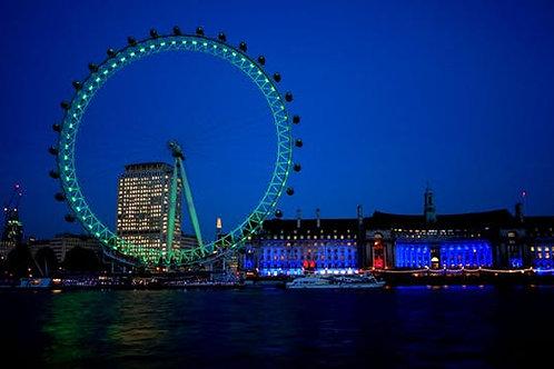 Biglietti per il London Eye con esperienza Cinema in 4D