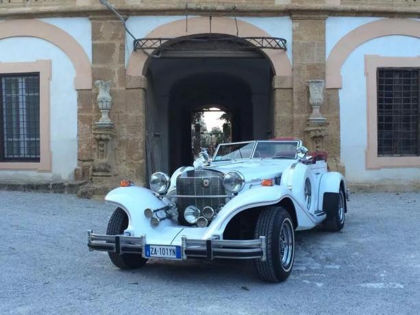 Un auto d'epoca