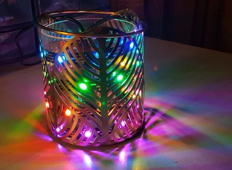 Ruban de leds RGB contrôlé par une PYBStick26
