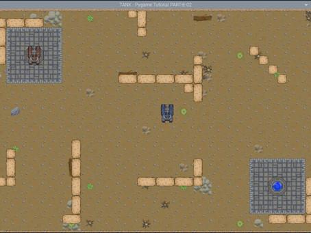Coder un jeux avec Pygame - 02 les décors