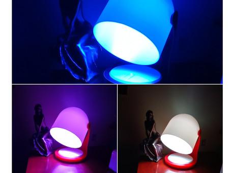 PicoLeds: Lampe de chevet colorée