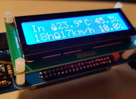 Pimometre: station météo de salon connectée