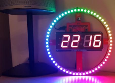 piClock: une horloge lumineuse