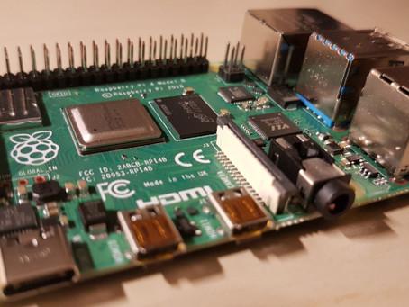 Un Raspberry pi4 (4Go) comme plateforme de DEV