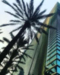The Lions Den Miami Office Building at the Espirito Santo Plaza/Brickell Arch