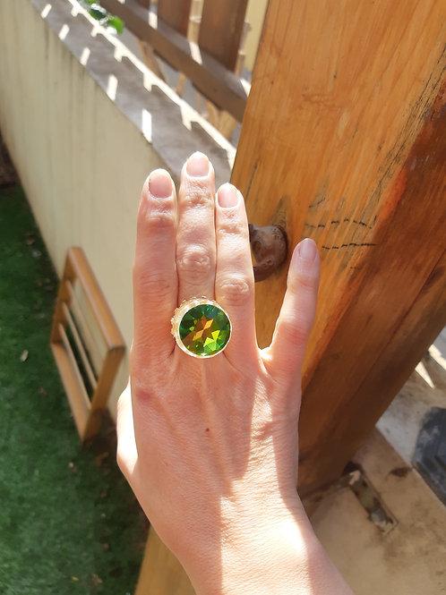 טבעת קרן סברובסקי